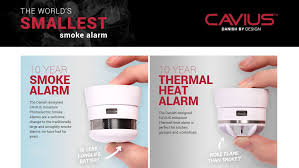 heat and fire alarms for your rental property