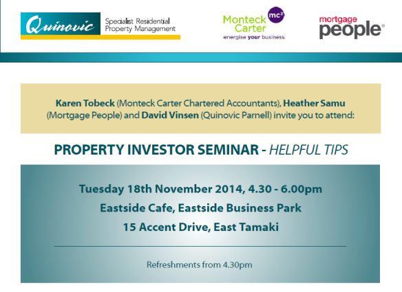 auckland property manager seminar